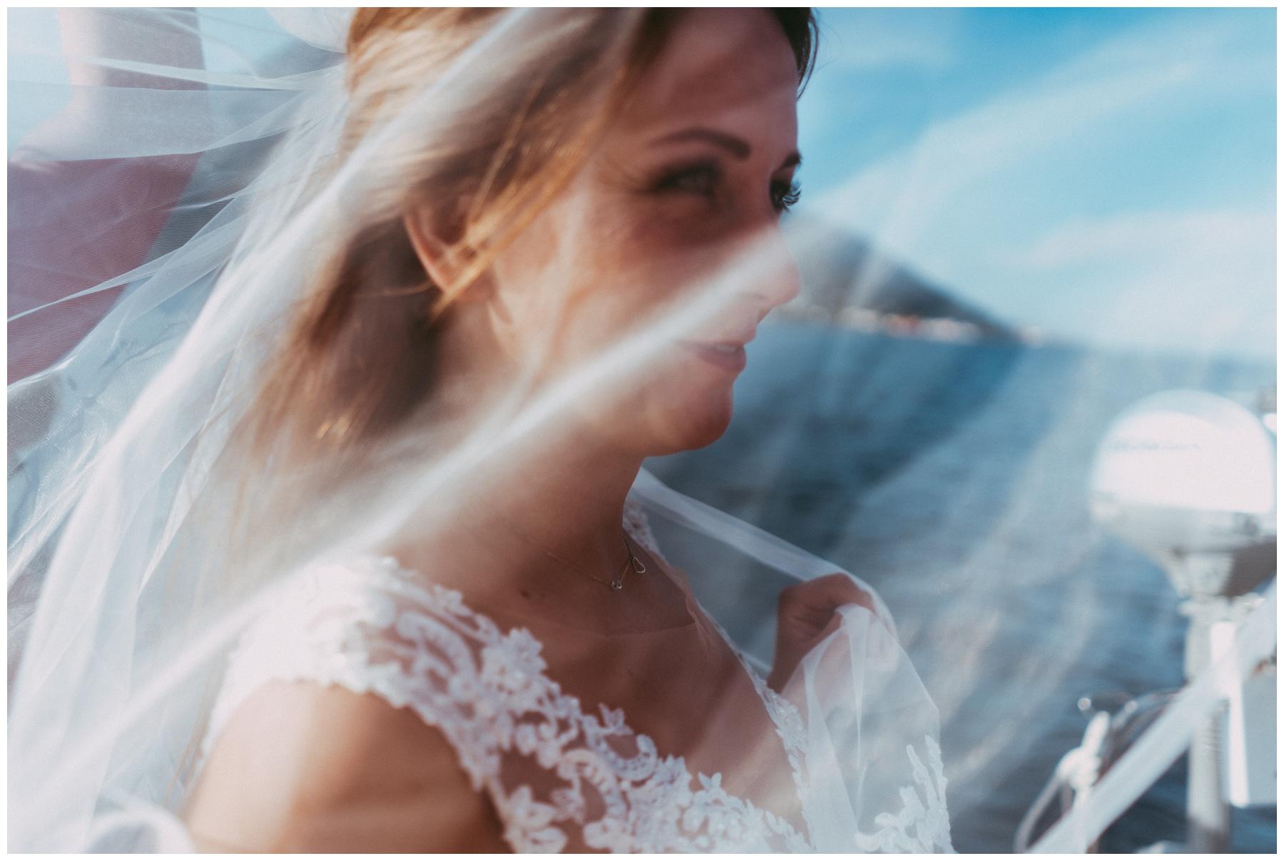 veil wedding dress